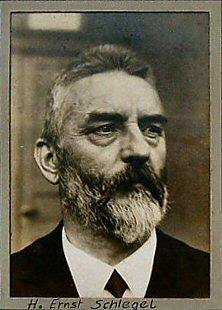 Ernst Schlegel - erster Chorleiter