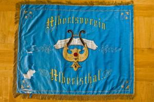 Vereinsfahne von 1885 - Vorderseite